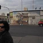 Die ersten Graffities in der Nachbarschaft
